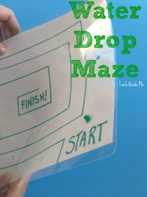Water Drop Maze- fast, easy, fun game for kids