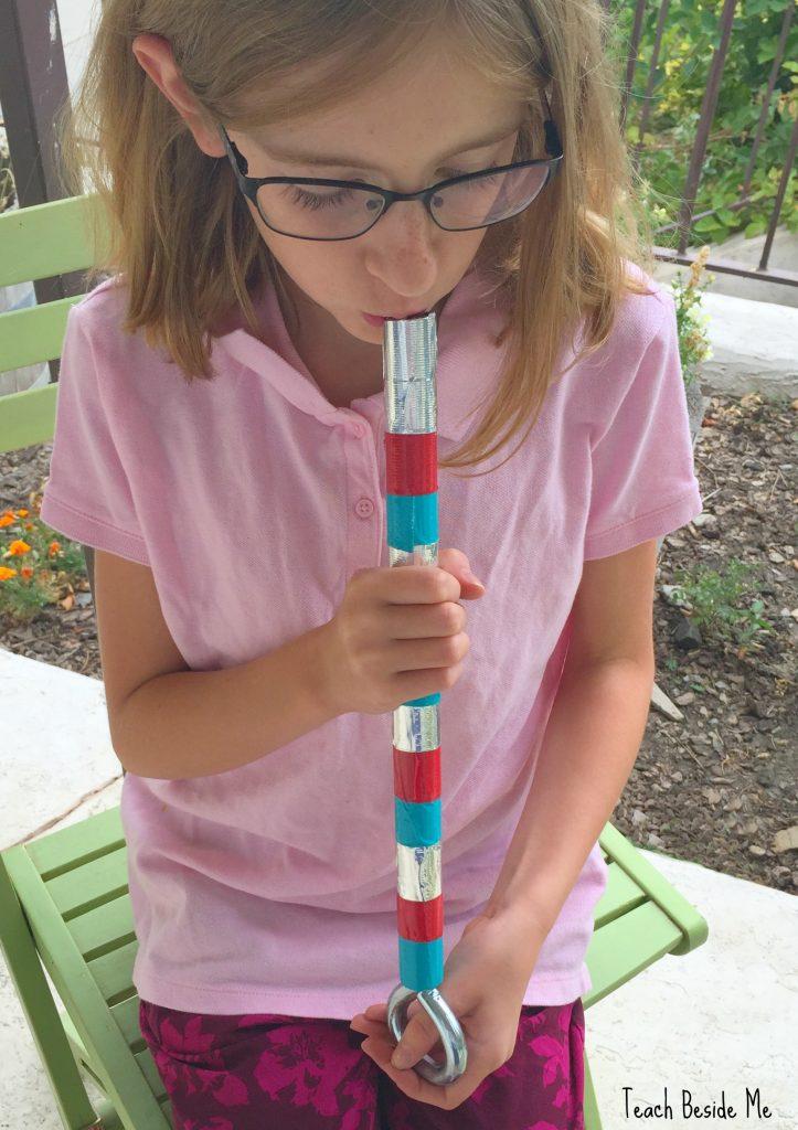 make a slide whistle for kids