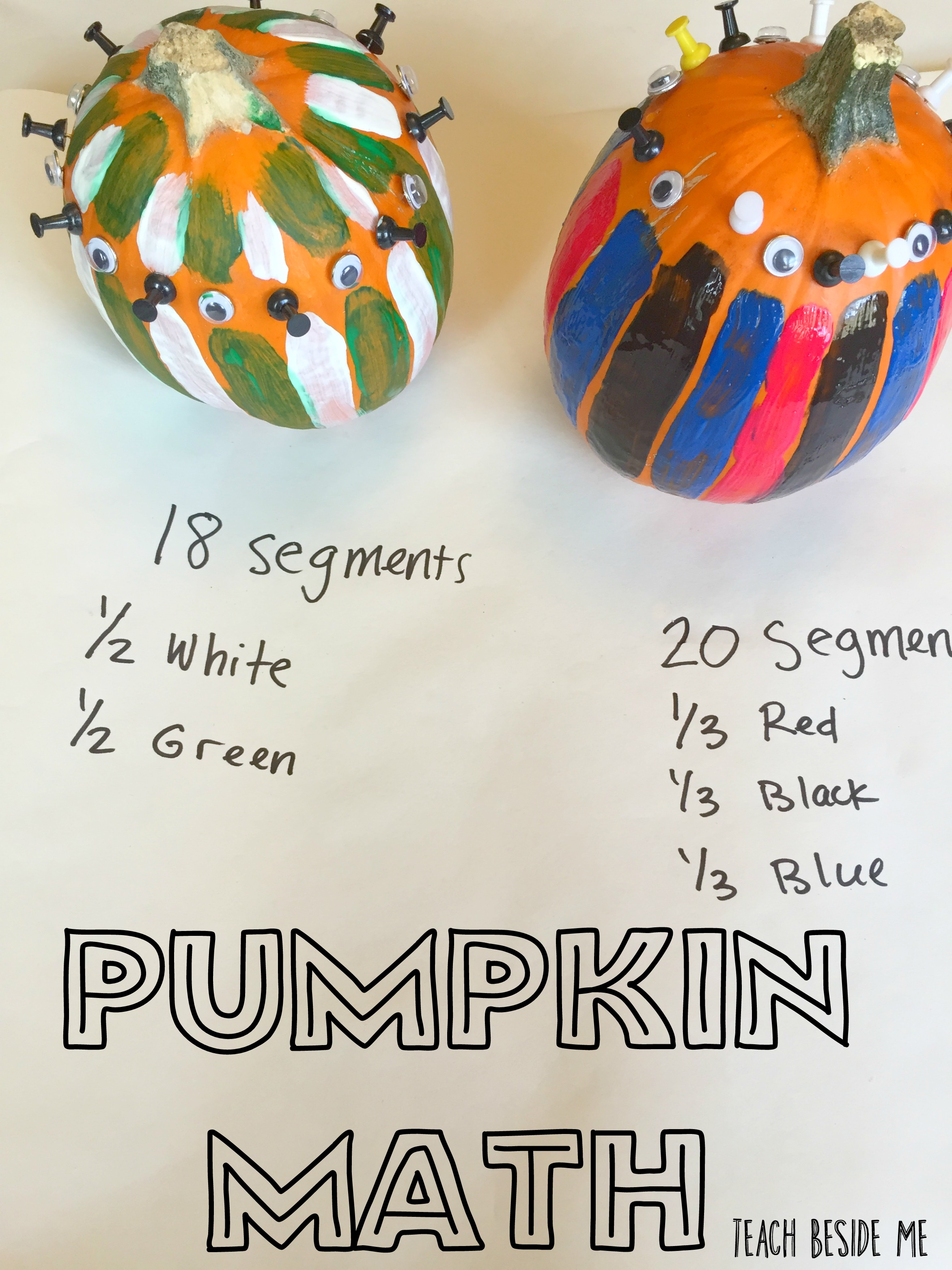 Pumpkin Math: How Many Segments?