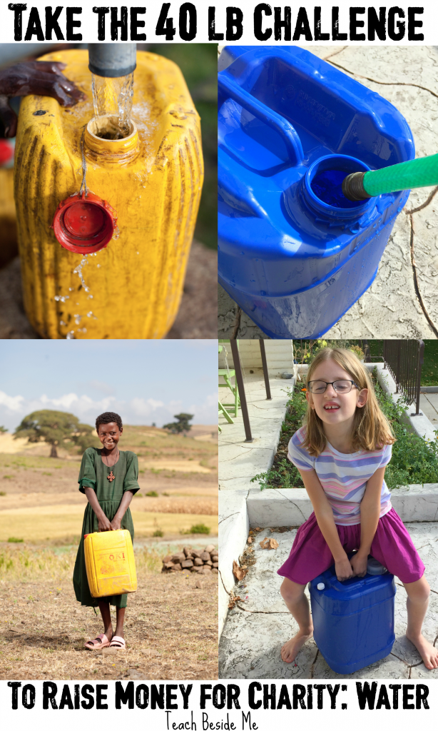 Charity: Water- 40 Lb Challenge- Ethiopia