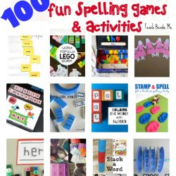 100 FUN Spelling Games and Activities!