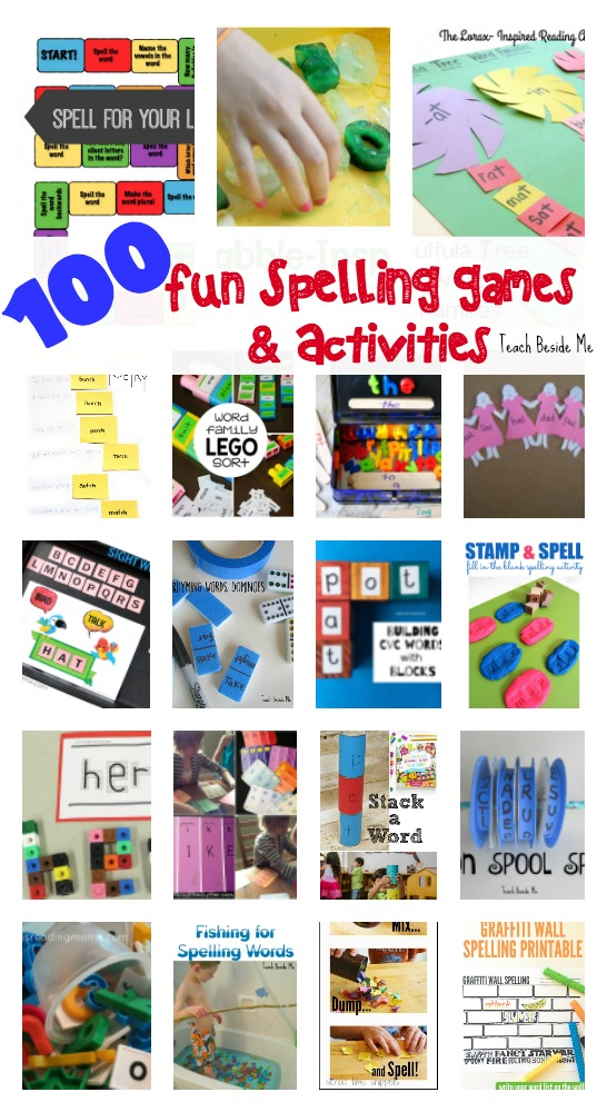 Fun Spelling Games and Activities