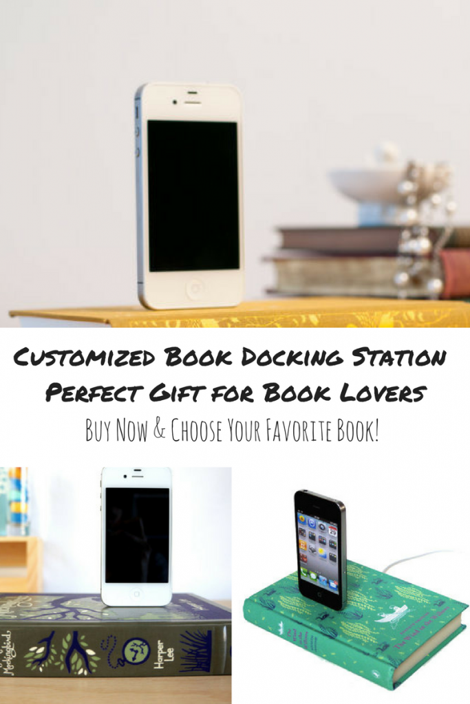 Favorite Book Docking Station- cool gift for readers and book lovers