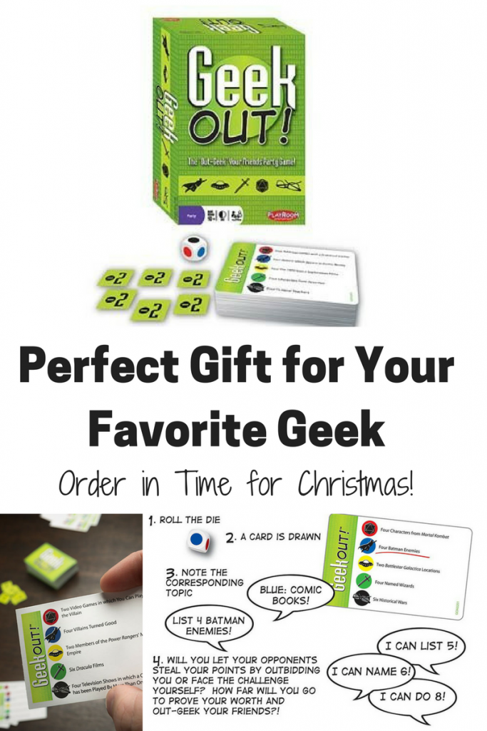 Geek Game For Gifts