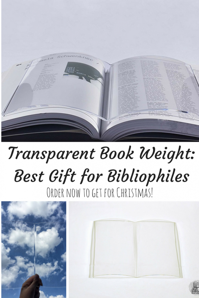 book weight- great gift for book lovers