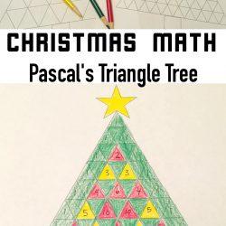 Pascal's Triangle Christmas Tree Math