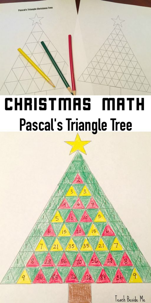 Christmas math: Pascal's Triangle Christmas Tree