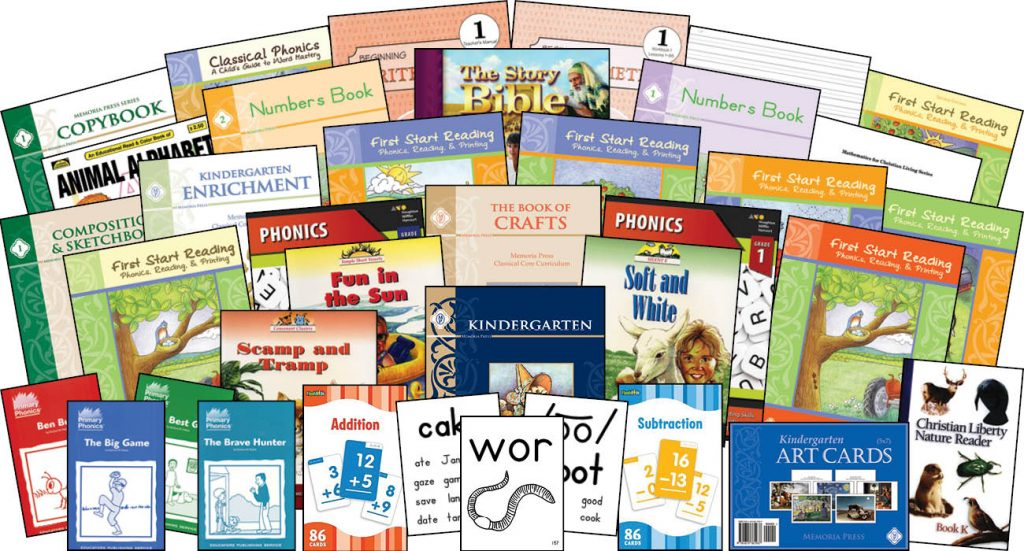 Homeschool Kindergarten - Memoria Press