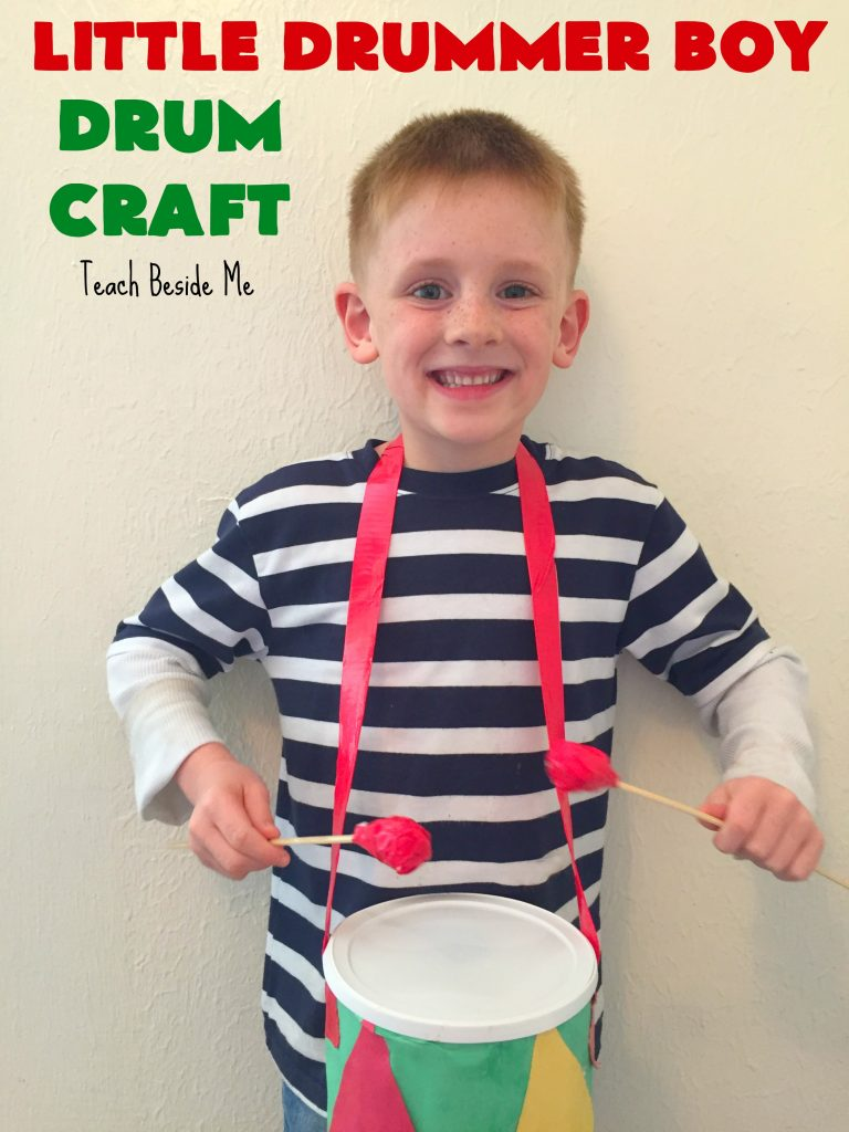 Drum craft for Christmas