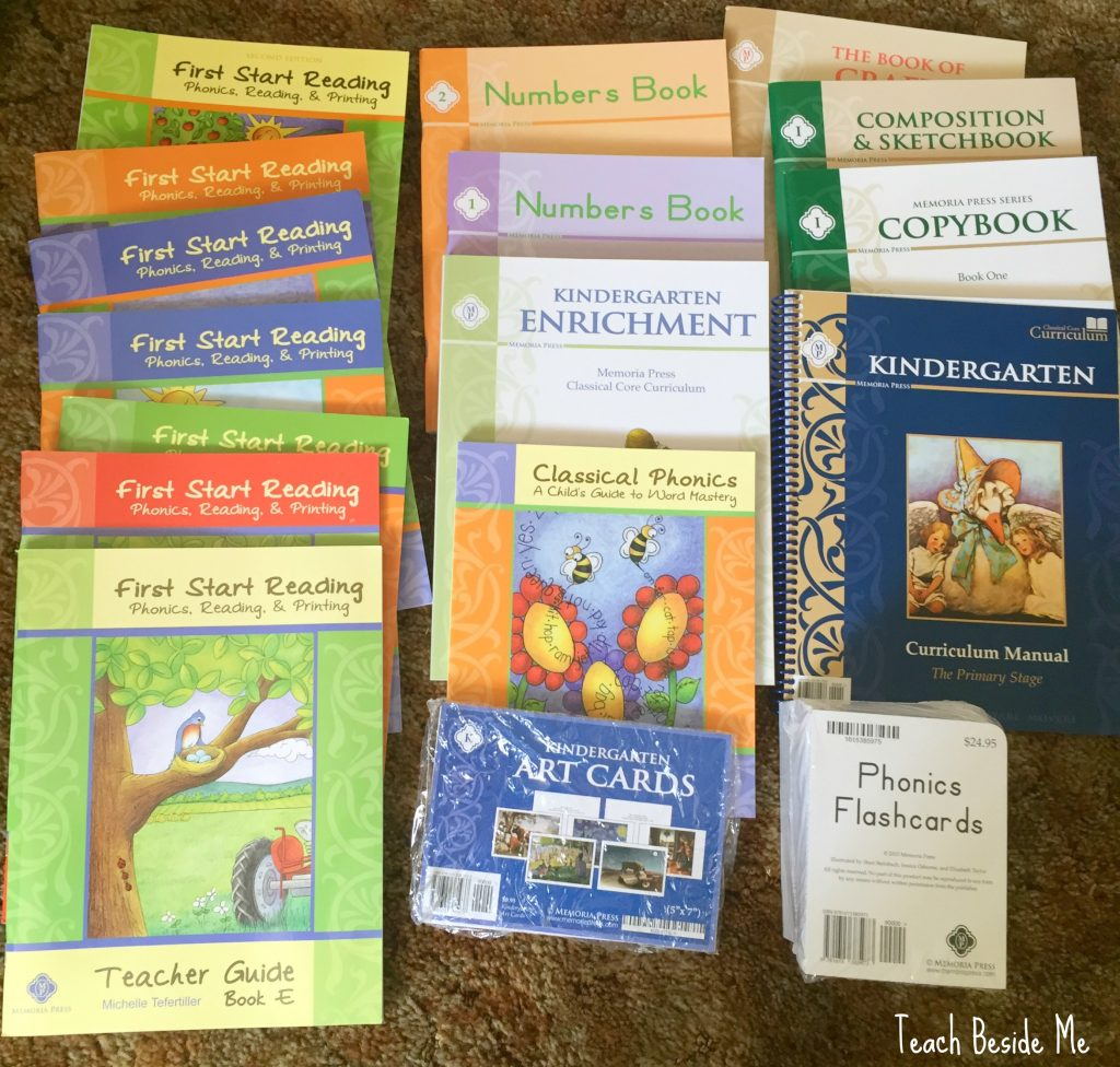 memoria-press-homeschool-kindergarten-curriculum