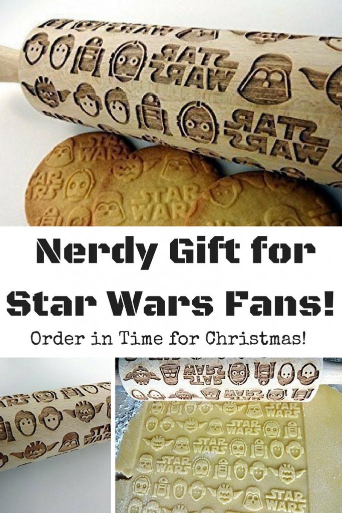 Nerdy Star Wars Rolling Pin Gift