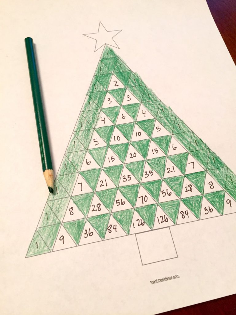 Pascal's Triangle Holiday Math