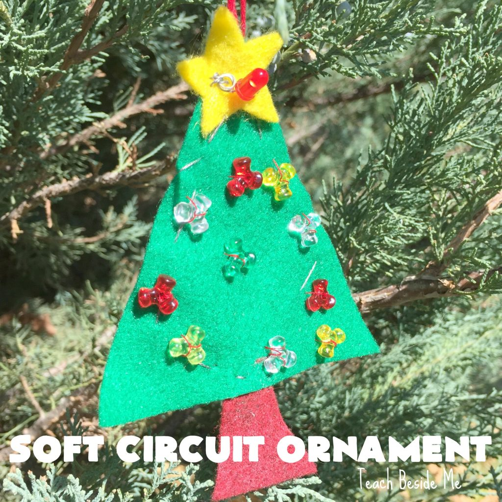 Soft Circuit Ornament - Christmas STEM