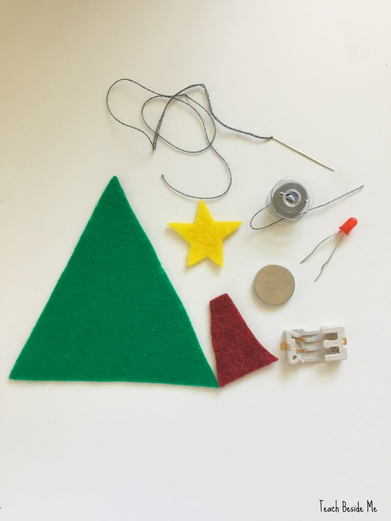 supplies-for-soft-circuit-ornament