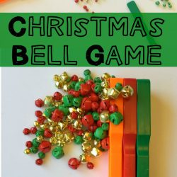 Christmas Bell Game: Holiday STEM