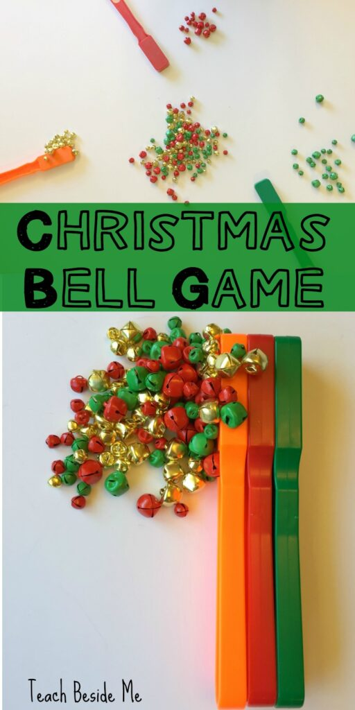 The Christmas Bell Game- Holiday STEM