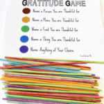 The Gratitude Game: Pick-Up Sticks