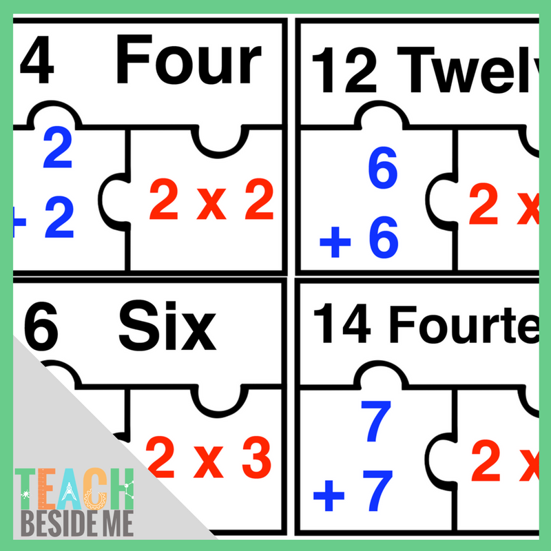 Doubles Math Puzzles – Teach Beside Me