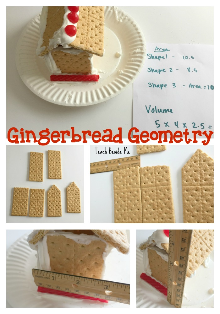 Gingerbread Geometry- Area, perimeter & volume