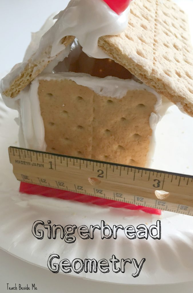 gingerbread house geometry measurements for volume