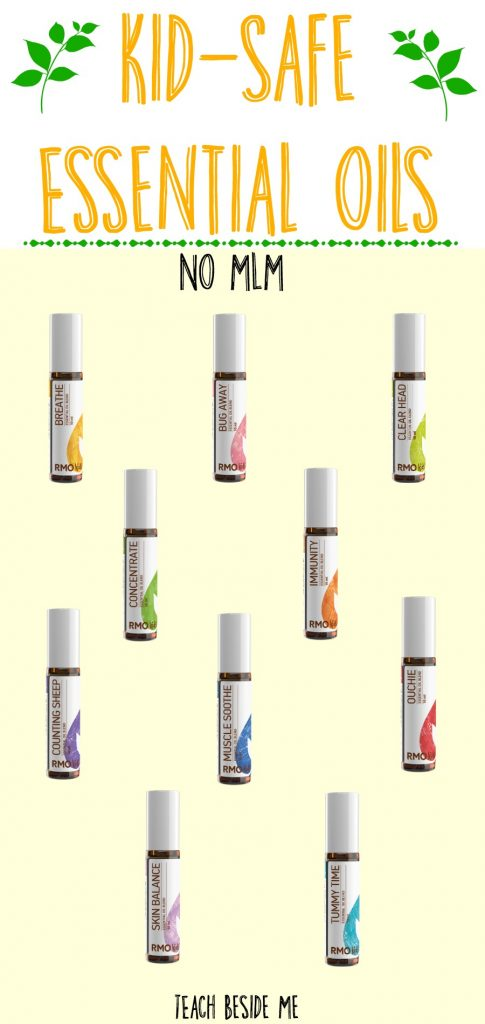 Kid-Safe essential oils with no MLM