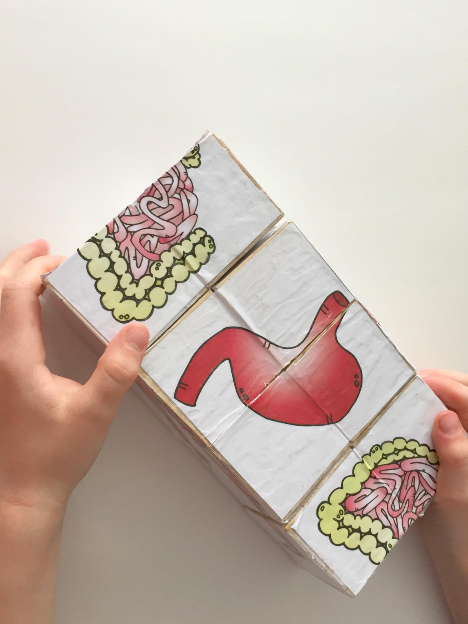 magic folding puzzle cube