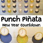 New Year Countdown Punch Pinata