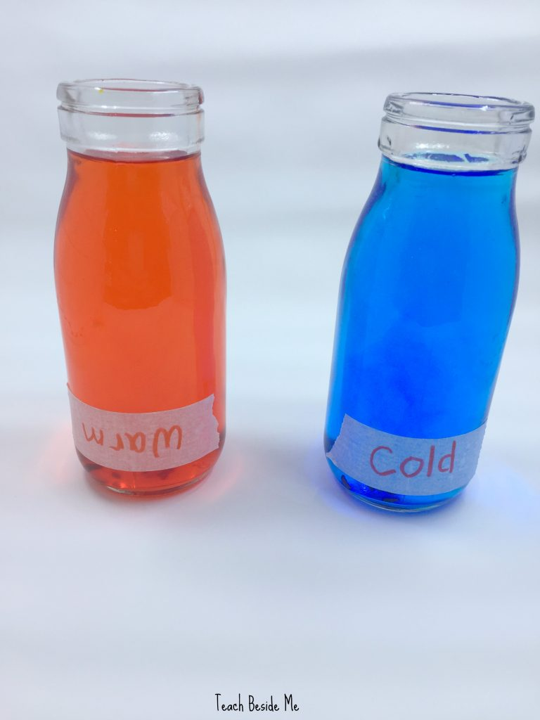 convection currents experiment