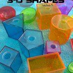 Measuring Volume of 3-D Shapes