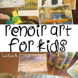 Renoir Art Project for Kids