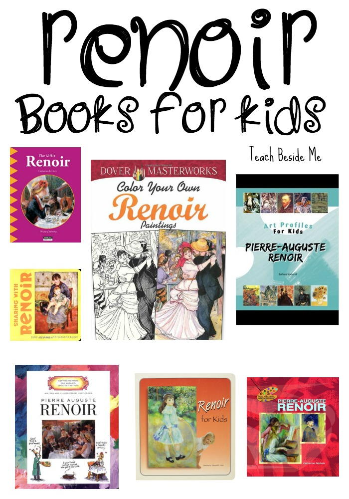 Renoir books for kids