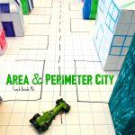 Architecture STEM: Area and Perimeter City