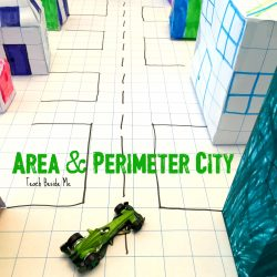 Architecture STEM: Area and Perimeter City