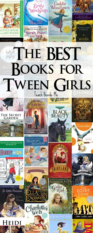 Best Books For Tween Girls Teach Beside Me