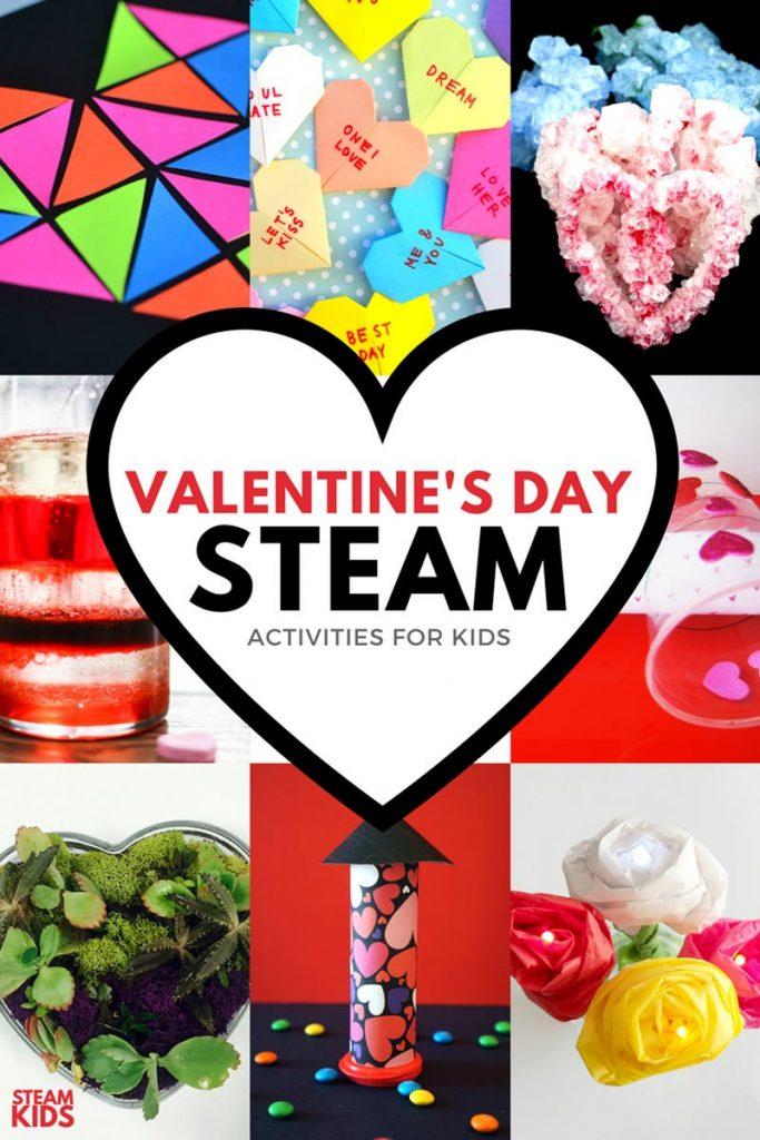 Valentine STEAM Activities for Kids