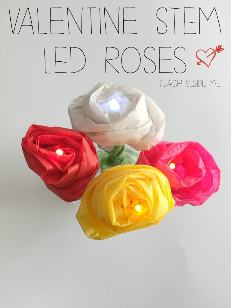 Valentine STEAM- LED Roses
