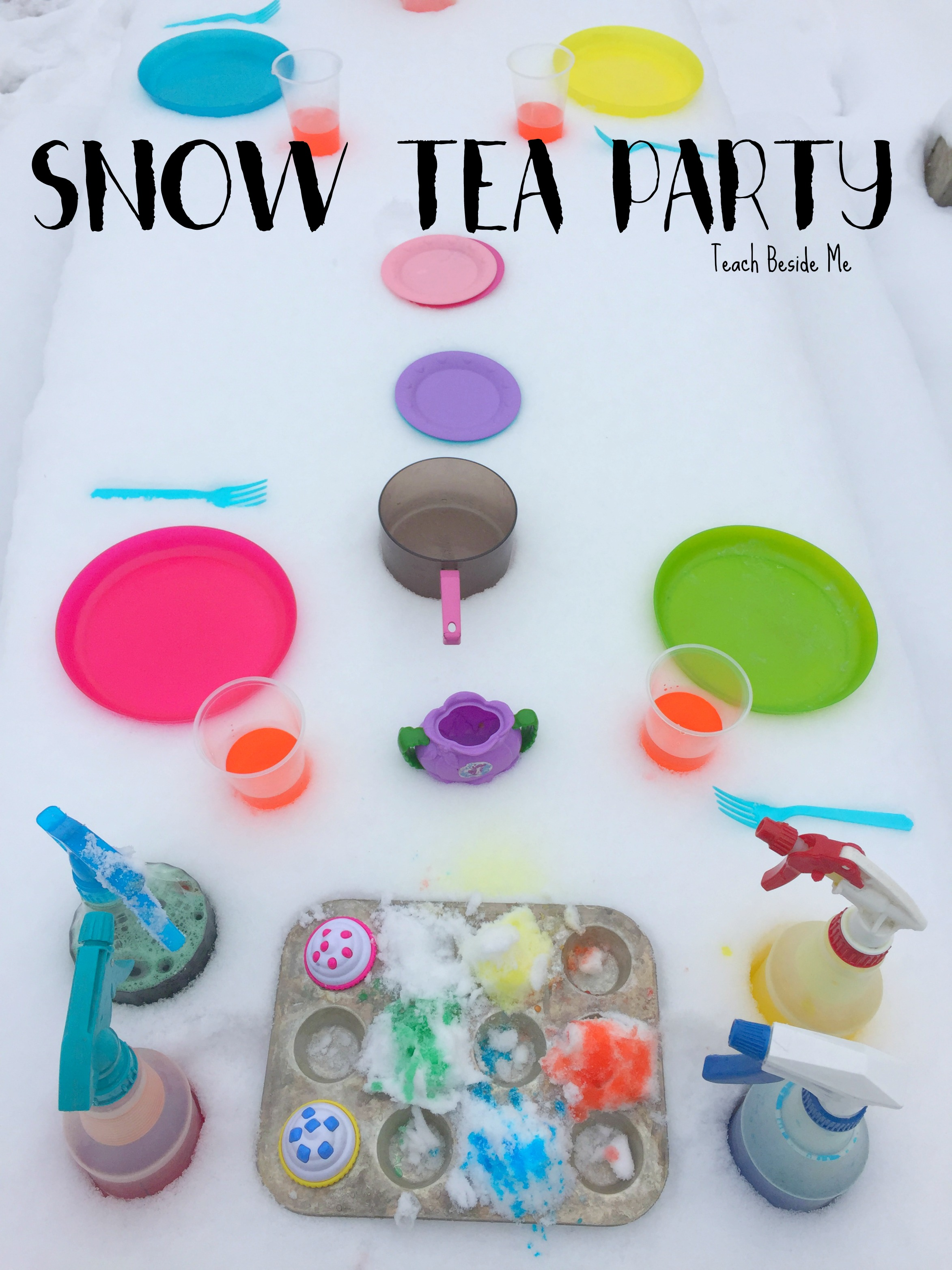 Winter Play: Snow Tea Party