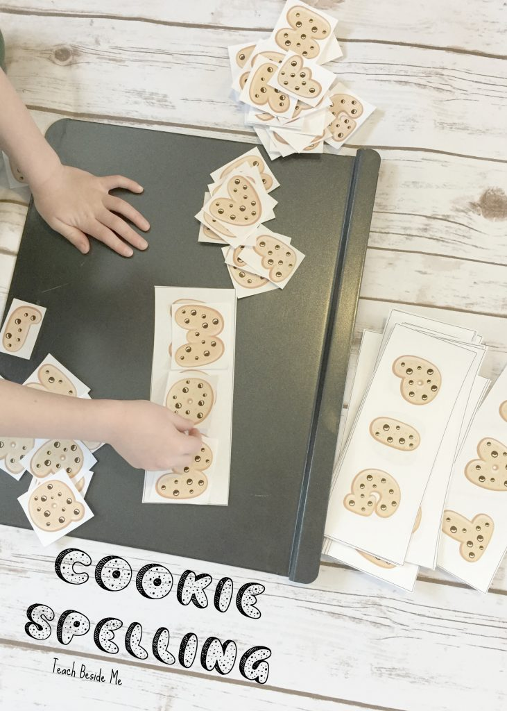 Cookie spelling - Give a Mouse a Cookie
