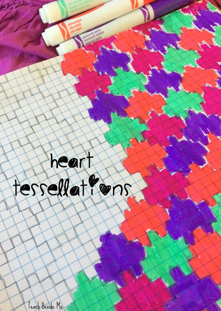 heart art- tessellations