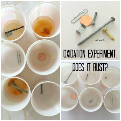 oxidation experiment
