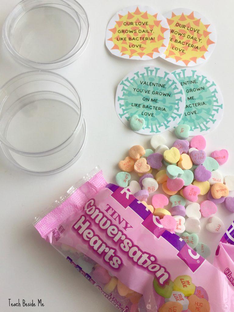 printable bacteria science valentines