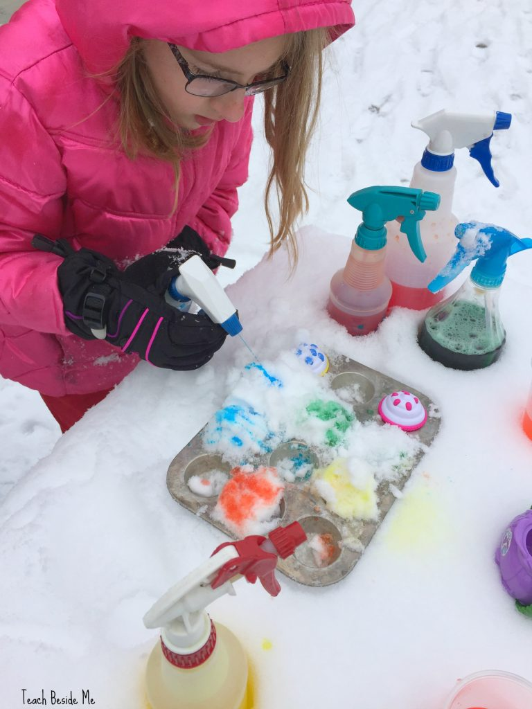 snow play food