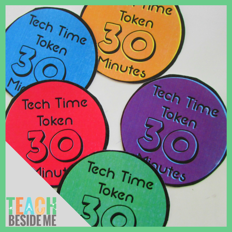 photo relating to Printable Tokens called Tech Year Tokens