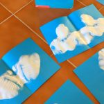 Ink Blot Cloud Shapes: Craft for Little Cloud Book