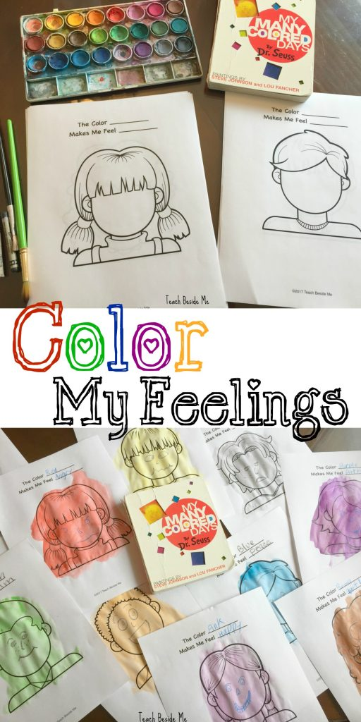 Color My Feelings- My Many Colored Days- Dr. Seuss