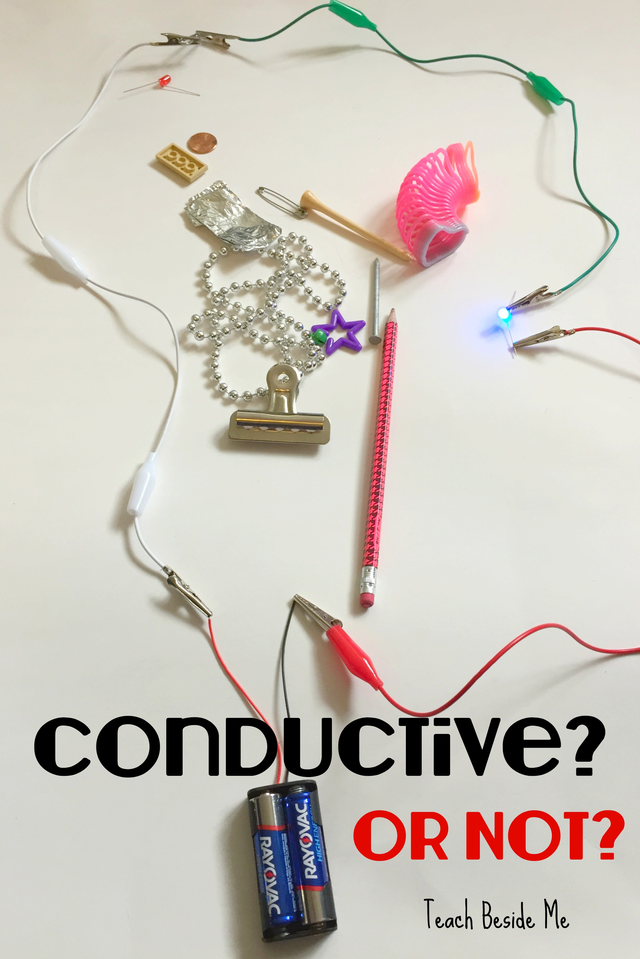 Is It Conductive or Not? STEM Conductivity Experiment