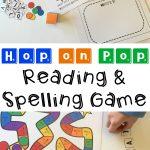 Dr. Seuss Hop on Pop Reading & Spelling Game