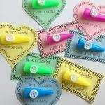 Printable Non-Candy Kazoo Valentines