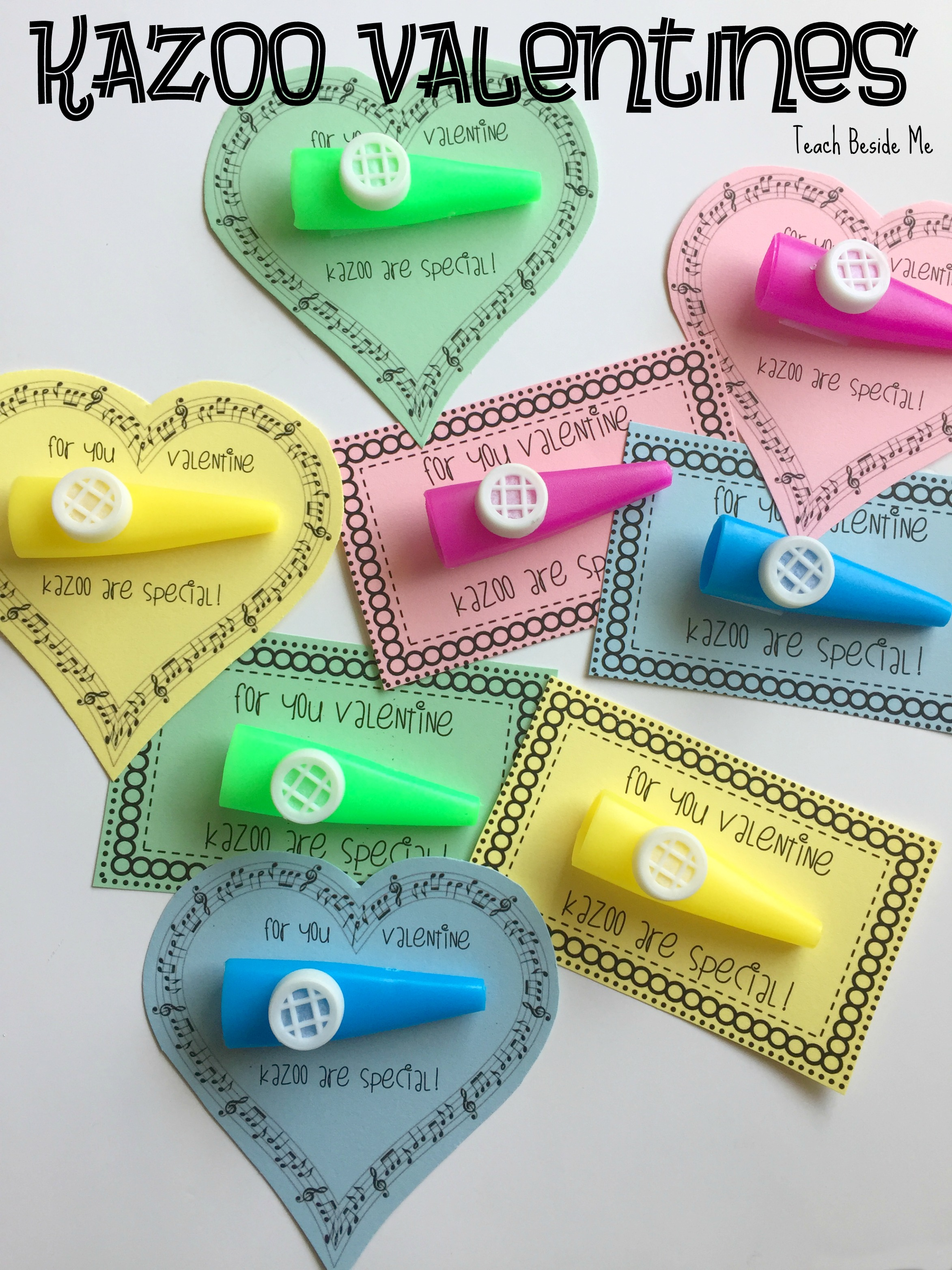 Kazoo Valentines (Non-Candy)