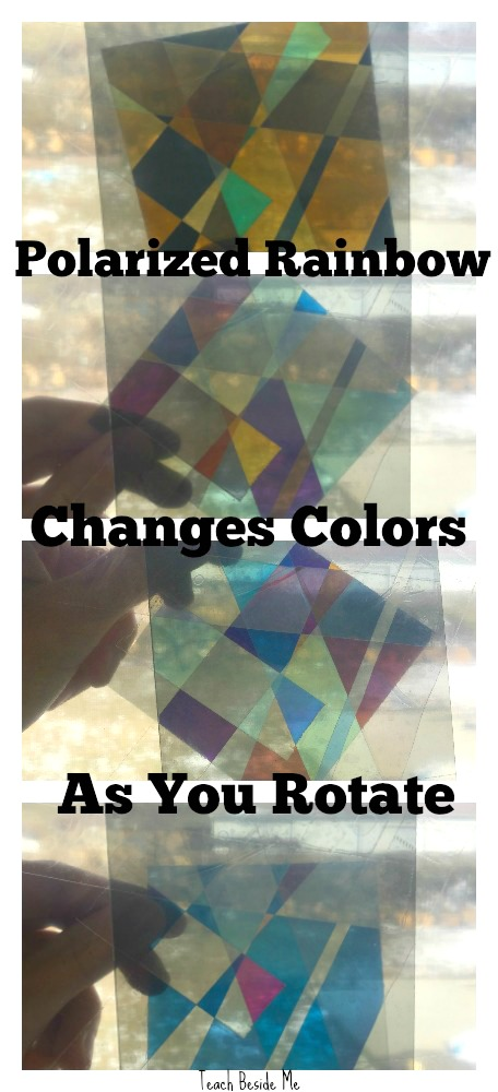Polarized Rainbow Experiments for Kids